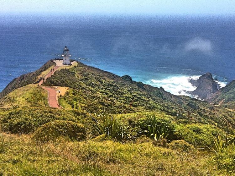 Der Pazifische dabei als der ruhige Mann und die Tasmansee als stürmisches Vollblutweib.