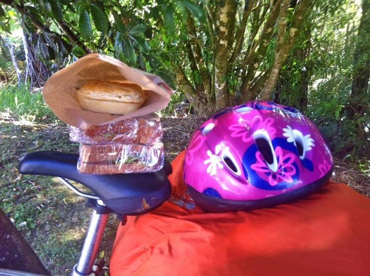 Zum besichtigen des Vulkans bin ich zu spät gekommen dafür habe ich das Essen bekommen was über geblieben ist. Wohl bekomms.