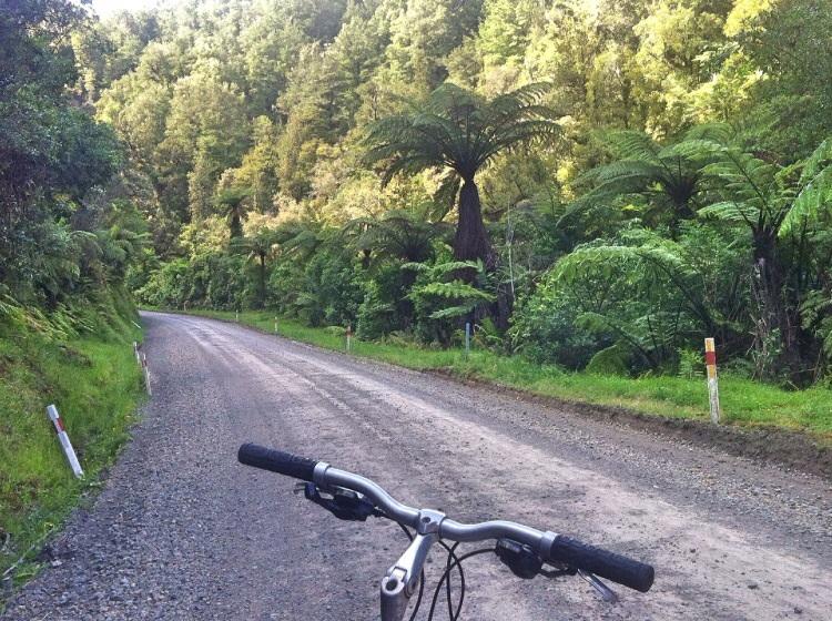 Gravel road in my vein! Das war bis jetzt das beste Stück der Reise!