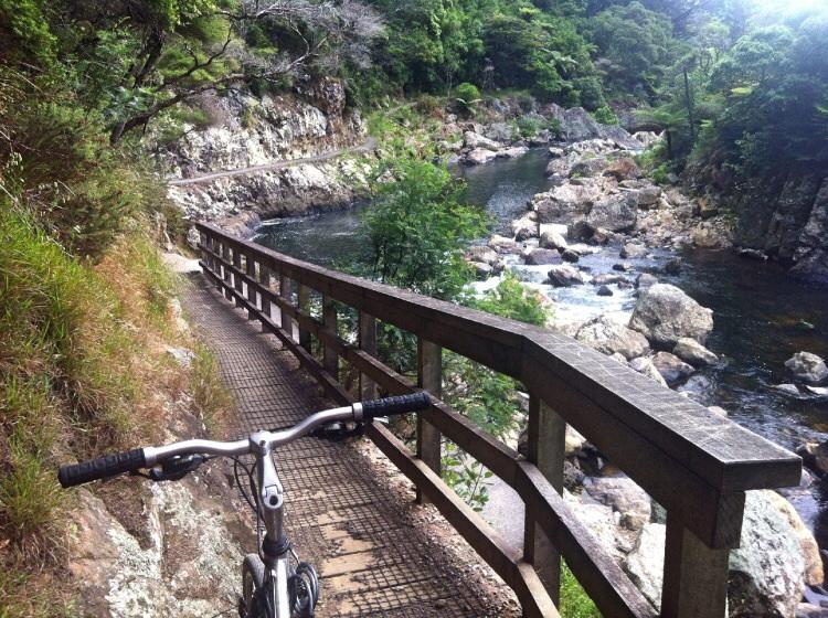 Wieder mal ein kleiner trail. Natürlich soll man vom Fahrrad absteigen. Haaaa! Überall Regeln. Soll ich kotzen oder ist das auch verboten. Am besten man macht gar nichts mehr und alle verrecken elendig. Hat der Planet wenigstens Ruhe und ein Krebsgeschwür weniger.