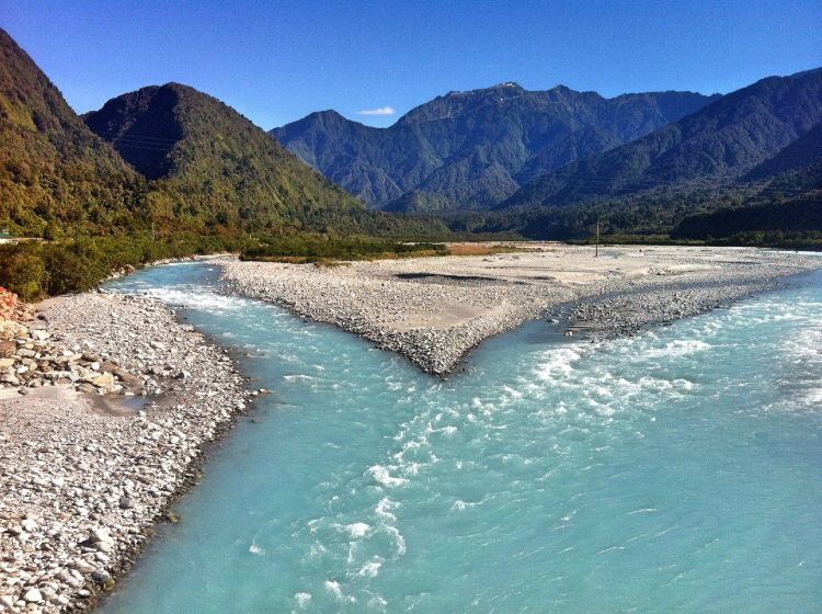 Die Flüsse Haben tolle Farben!