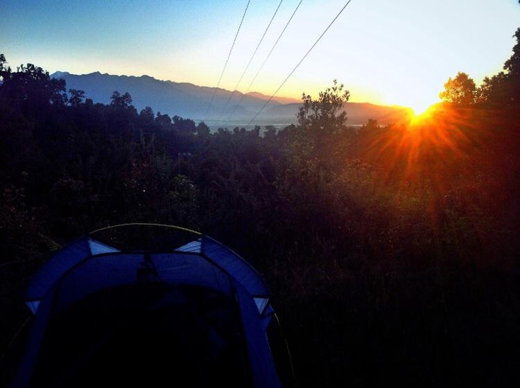 Schöner free campground mit Aussicht!